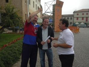 Momenti di amore con l'assessore Carlo Gonzo!